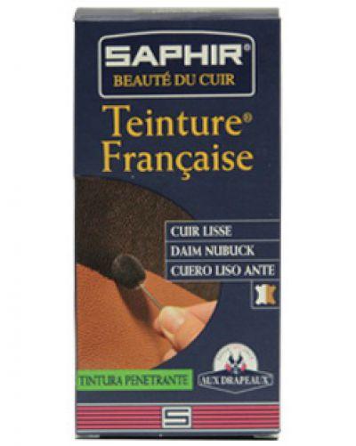 Saphir Teinture краска для кожи и замши Чёрный