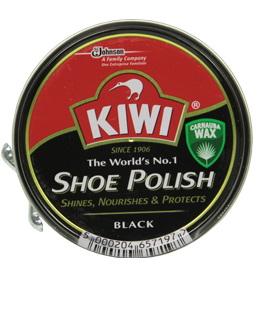 Kiwi Shoe Polish крем для гладких видов кож черный